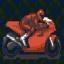 Tem Red MEX 500 Motor Rider