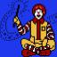 The Hamburger-Happy Clown