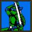 Sharpie Katanas ( Krang and Shredder)