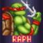 Saves Splinter as Raphael