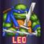 Saves Splinter as Leo