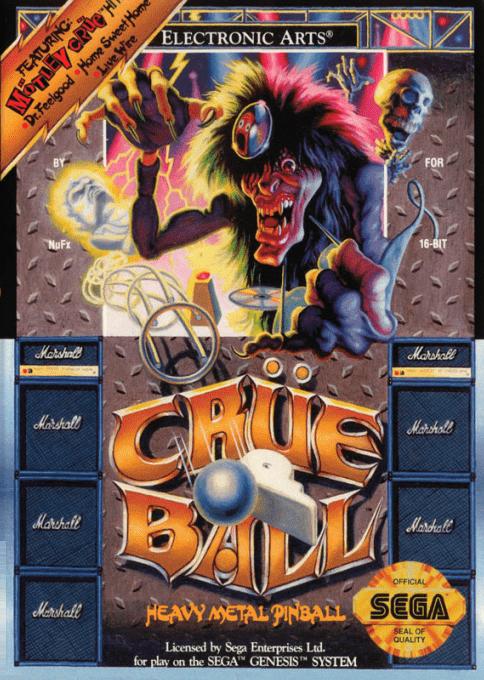 Crüe Ball : Heavy Metal Pinball