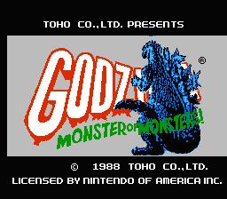 Godzilla : Monster of Monsters
