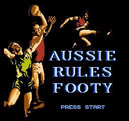 Aussie Rules Footy