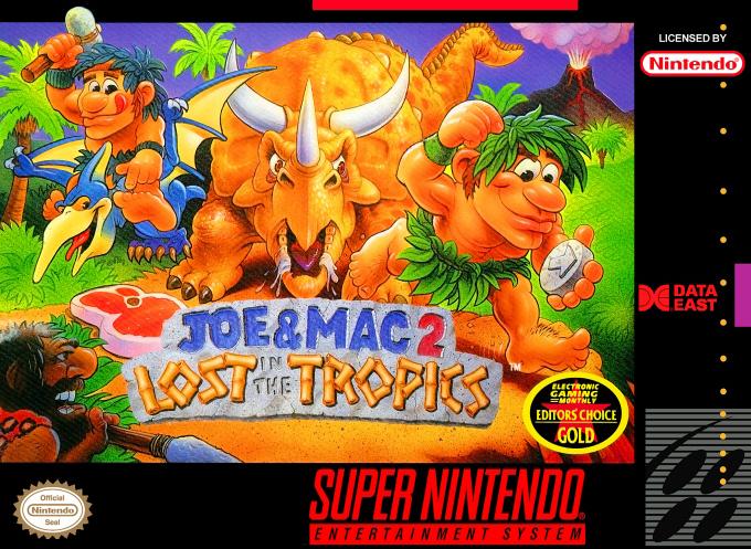 Joe & Mac 2 : Lost in the Tropics