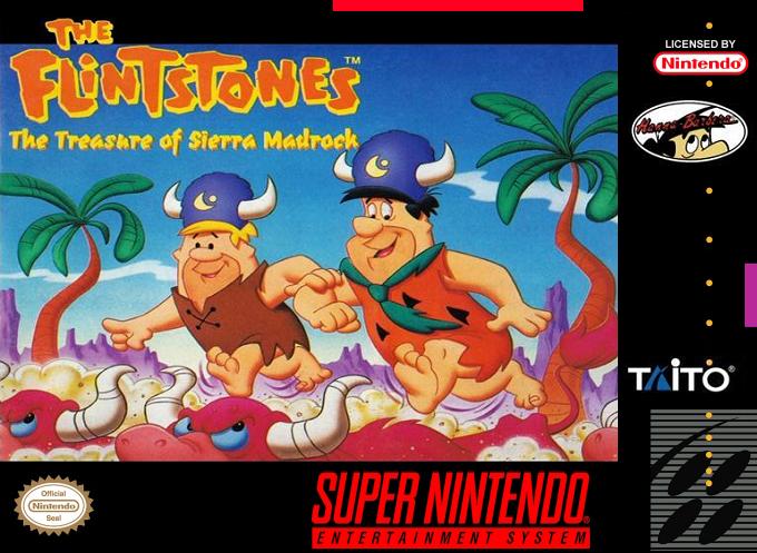 The Flintstones : The Treasure of Sierra Madrock