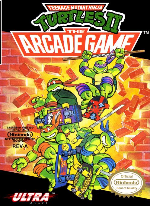 Teenage Mutant Ninja Turtles 2 : The Arcade Game