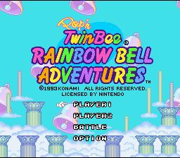 Pop'n TwinBee : Rainbow Bell Adventures