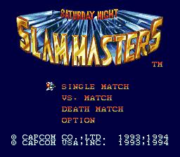 Saturday Night Slammasters