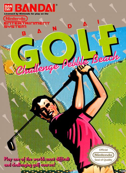 Bandai Golf : Challenge Pebble Beach
