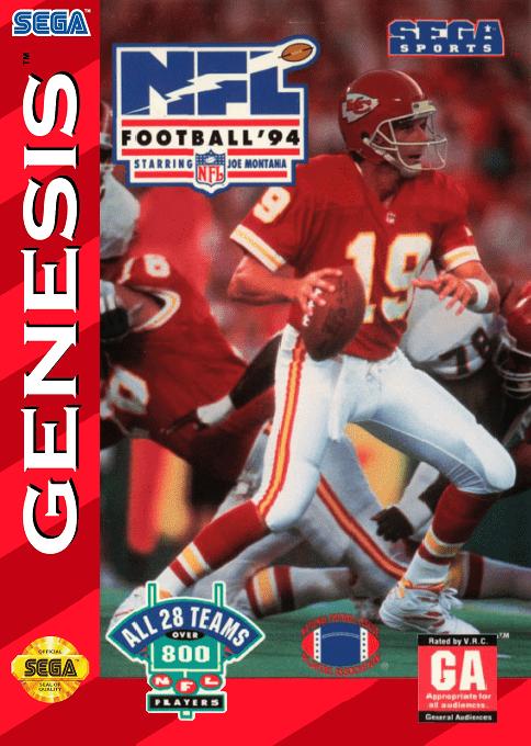 NFL Football '94 starring Joe Montana