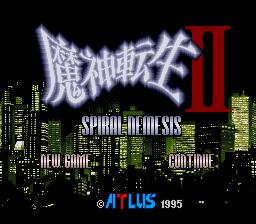 Majin Tensei II : Spiral Nemesis