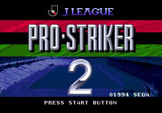J. League Pro Striker 2