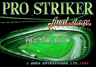 Pro Striker Final Stage