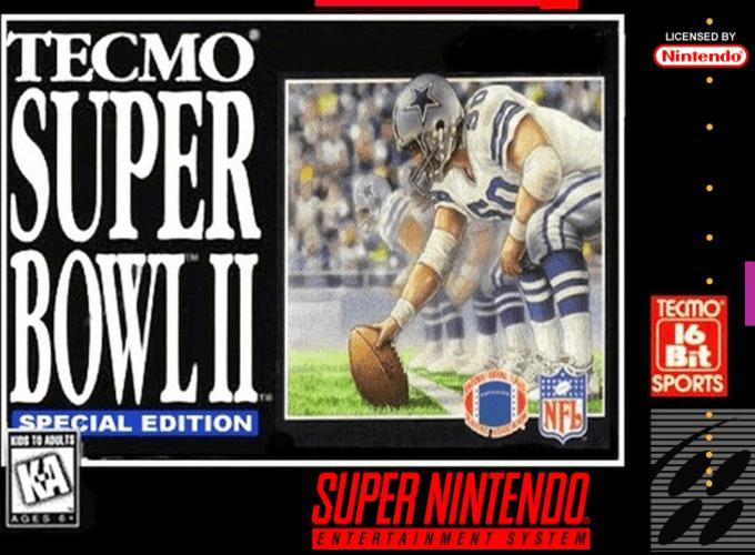 Tecmo Super Bowl II : Special Edition
