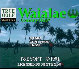 True Golf Classics : Waialae Country Club