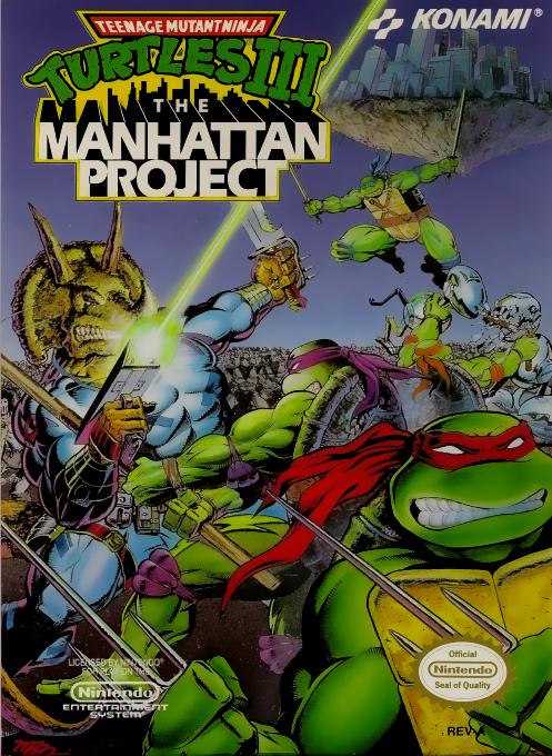Teenage Mutant Ninja Turtles III : The Manhattan Project