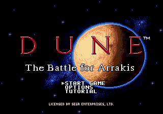 Dune : The Battle for Arrakis