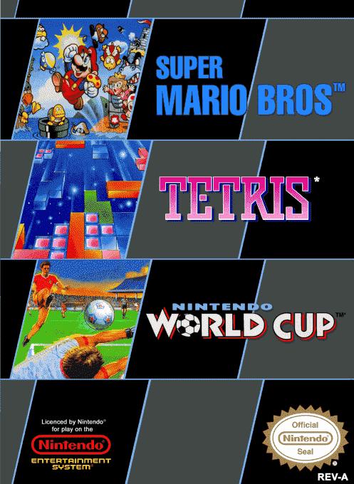Super Mario Bros. + Tetris + Nintendo World Cup