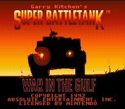 Garry Kitchen's Super Battletank : War in the Gulf