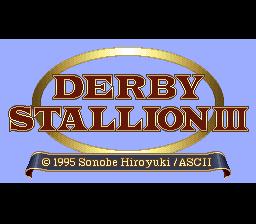 Derby Stallion III