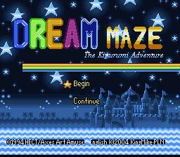Dream Maze : Kigurumi Daibouken