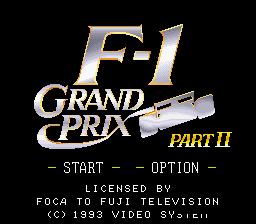 F-1 Grand Prix : Part II