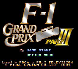F-1 Grand Prix : Part III