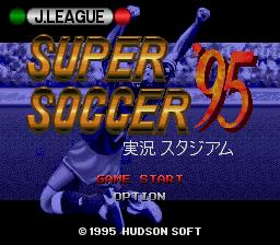 J.League Super Soccer '95 : Jikkyou Stadium