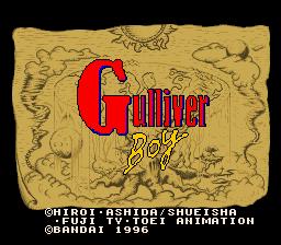 Kuusou Kagaku Sekai Gulliver Boy