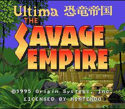 Ultima : Kyouryuu Teikoku