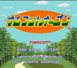 Namcot Open
