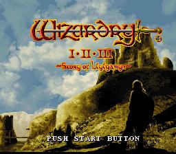 Wizardry I-II-III : Story of Llylgamyn