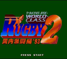 World Class Rugby 2 : Kokunai Gekitou Hen '93