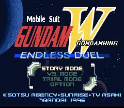 Shin Kidou Senki Gundam W : Endless Duel
