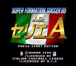 Super Formation Soccer 95 della Serie A