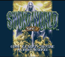 Sword World SFC 2 : Inishie no Kyojin Densetsu