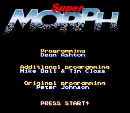 Super Morph