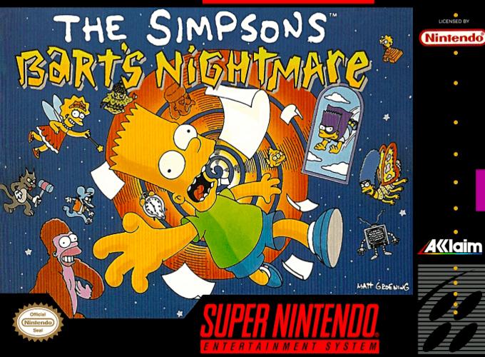 The Simpsons : Bart's Nightmare