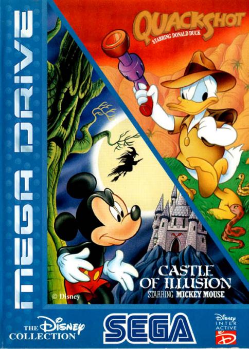 The Disney Collection : QuackShot + Castle of Illu