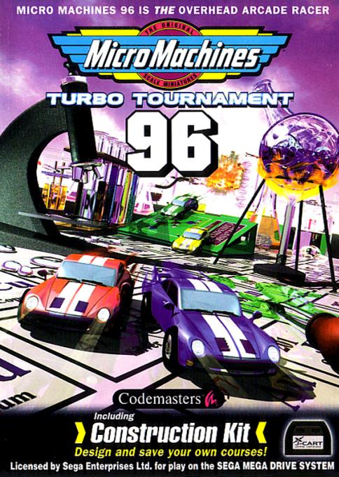 Micro Machines : Turbo Tournament 96