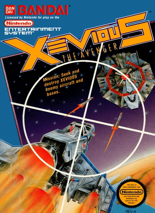Xevious : The Avenger